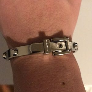 Michael Kors Jewelry - Michael Kors silver studded hinge bracelet